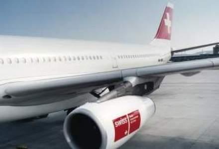 Swiss isi dubleaza zborurile din Bucuresti
