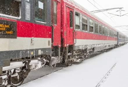 CFR Calatori: 13 trenuri anulate, duminica dimineata; se reintra treptat in graficele normale de circulatie