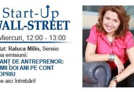 Antreprenoriat feminin: A renuntat la multinationala pentru doua afaceri proprii. Povestea Ralucai Milin, la Start-Up Wall-Street