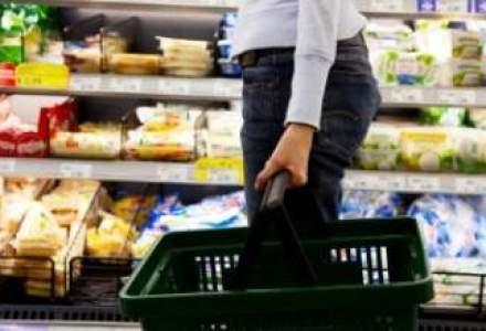 Piata bunurilor de larg consum, trasa in sus de inflatie