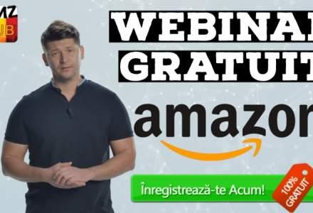 Vrei sa inveti cum sa vinzi pe Amazon? Participa GRATUIT la un Webinar pe aceasta tema