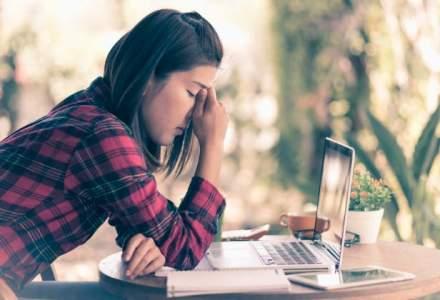 Studiu: Peste 99% dintre angajatii romani sunt stresati