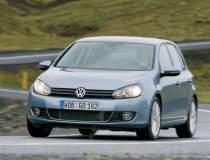 Un Volkswagen Golf din 2010...