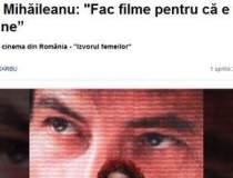 """Radu Mihaileanu: """"Fac filme..."""