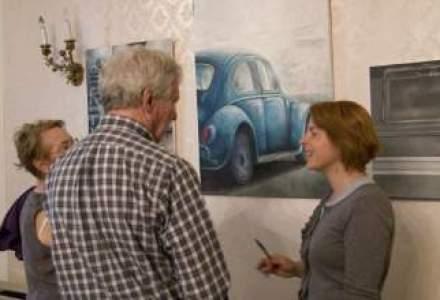 Cum si-a transformat un finantist pasiunea pentru arta in business