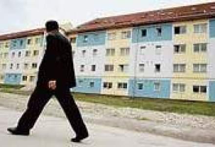 Blocurile noi trimit cartierele de vile in provincie