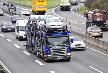 Piata de vehicule comerciale noi din UE, crestere de 8% in ianuarie. Romania, scadere de 15%