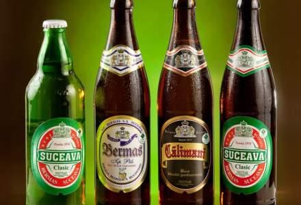 Producatorul de bere Bermas Suceava si-a majorat afacerile anul trecut, insa cu un profit mai mic