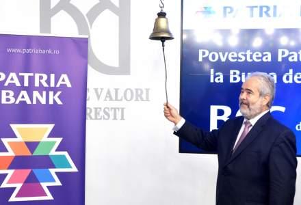 "Patria Bank va incepe in mediul rural programul pilot ""Retail Hub"" si vrea sa ajunga in 2018 la expuneri neperformante de numai 10%"