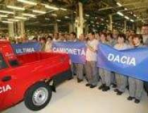 Camioneta Dacia a salvat...