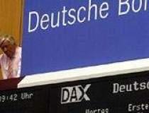 Deutsche Boerse a pus ochii...