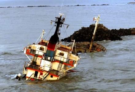 "Povestea de 4 mil. dolari a epavei Fortuna S, esuata pe canalul Sulina al Dunarii: ""Nu poti sa pleci pe mare fara putin noroc!"""
