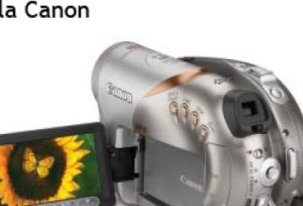 Cea mai mica camera video de la Canon