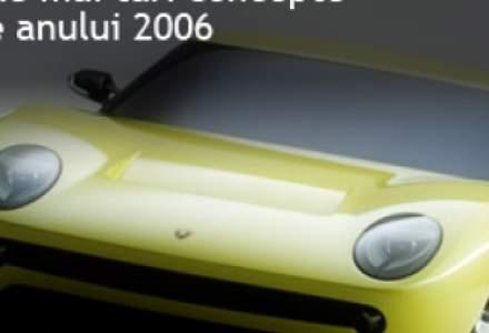 Cele mai interesante concepte auto ale anului 2006