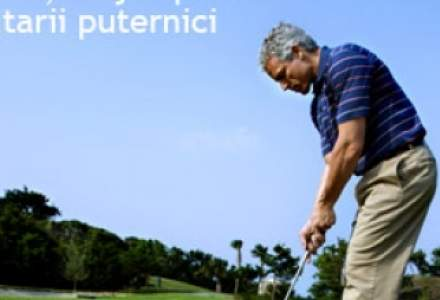 Golful, un joc pentru solitarii puternici