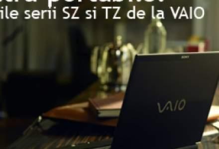 Noile serii SZ si TZ de la VAIO: Notebook-uri de lux ultra-portabile