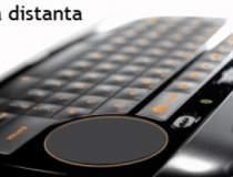 Mini-tastatura pentru control...