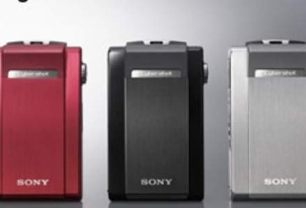 Noul model Cyber-shot T500 de la Sony ofera performanta HD