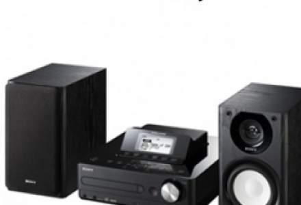 Redescoperiti muzica preferata cu noul sistem Hi-Fi GIGA JUKE HDD