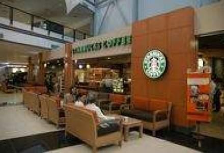 Starbucks a inaugurat a doua cafenea din Capitala