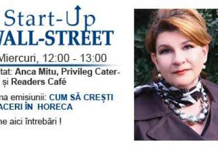HoReCa: A creat un business in catering si localul Readers Cafe. Afla-i povestea la Start-Up Wall-Street