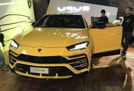 Lamborghini Urus, cel mai rapid SUV din lume, a fost prezentat la Bucuresti