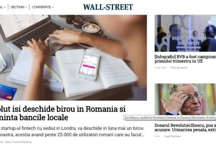 Wall-Street.ro se schimba: look nou si integrarea platformei Wall-Street PRO