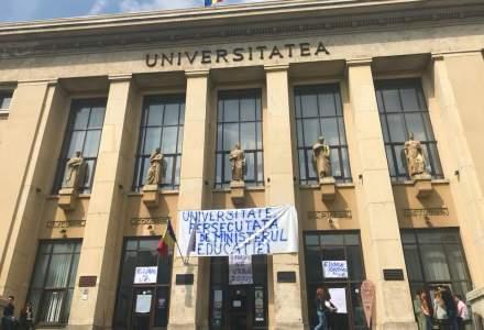 Universitatea din Bucuresti intra in greva japoneza, in semn de protest fata de deciziile Ministerului Educatiei