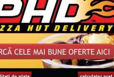 Pizza Hut Delivery se extinde in tara: Prima unitate, in Palas Iasi