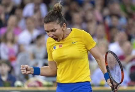Fed Cup: Simona Halep aduce calificarea Romaniei in Grupa Mondiala