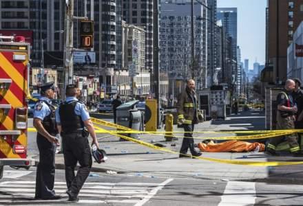 Atac terorist in Canada: 9 morti si 16 raniti dupa ce o camioneta a intrat in pietoni la Toronto