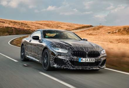 BMW testeaza noul model Seria 8 Coupe in Tara Galilor