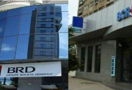 Cine a castigat mai mult dintre BCR si BRD. Vezi rezultatele celor mai mari banci in T1