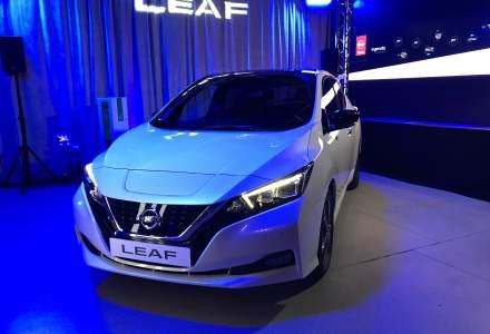 Nissan a lansat pe piata din Romania noua generatie a modului 100% electric Leaf