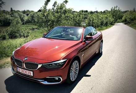 Test drive: BMW Seria 4 Cabriolet facelift, o decapotabila extravaganta