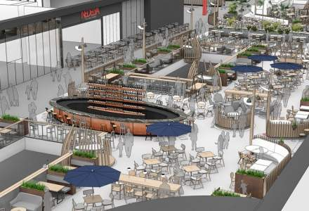 NEPI Rockcastle investeste 3,5 milioane de euro in zona de food court si divertisment a centrului comercial Mega Mall din Bucuresti