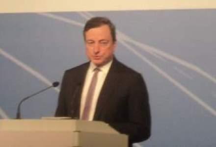 Mario Draghi: Target2Securities este o parte importanta in procesul de creare a unei piete unice europene