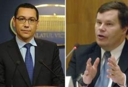 Dialogul surzilor intre Ponta si Franks: Recuperarea salariilor si TVA pe categorii sunt vazute diferit