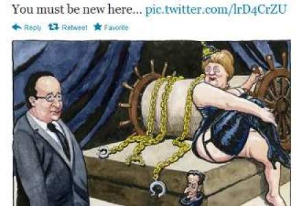 Cont de Twitter care o parodiaza pe Angela Merkel, inchis dupa ce a strans 26.000 de fani