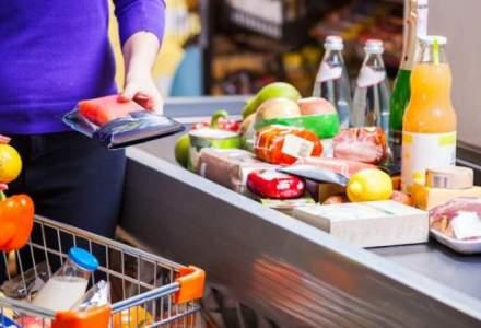 Bunuri de larg consum: Romanii au cheltuit mai mult, in medie, pe oua, unt, cidru, bere cu arome si produse de igiena orala