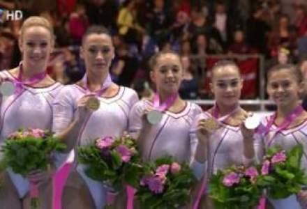 Romania castiga aurul pe echipe la Campionatul European de Gimnastica