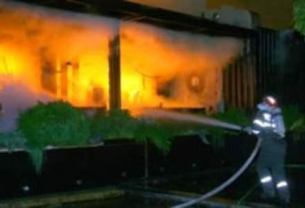 Doua restaurante din parcul Herestrau, afectate de un incendiu