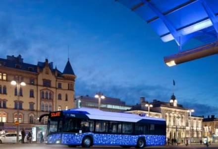 Video. Cum arata primele autobuze electrice din Romania, puse in circulatie la Cluj