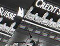 Profitul net al Credit Suisse...