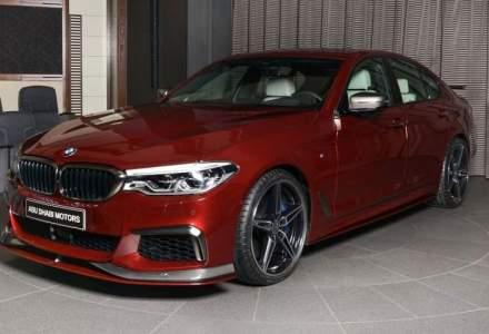 BMW M550i Rosu Aventurine prezentat de AC Schnitzer arata ca o bomboana delicioasa!