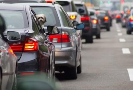 In Bucuresti sunt de doua ori mai multe masini la 1.000 de locuitori fata de media UE