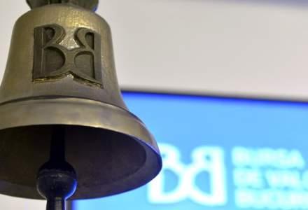 Bursa de Valori Bucuresti: Valoarea tranzactiilor cu actiuni, in crestere cu 9.2% in aceasta saptamana