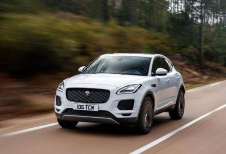 Jaguar aduce noutati pentru SUV-ul E-Pace: suspensie adaptiva, tehnologii bazate pe inteligenta artificiala si un nou motor pe benzina de 200 CP