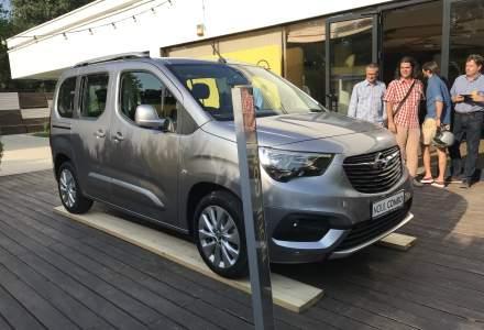 Opel a prezentat noul Combo Life in Romania. Primele exemplare sosesc la dealeri in toamna