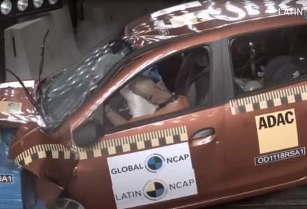 Sandero/Logan, rezultate dezamagitoare la testele Latin NCAP in 2018 - 1 stea